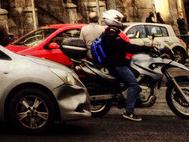 Accidente de tráfico en coche o moto
